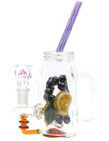 "Empire Glassworks Mini Rig - 8.25"" / Blueberry Orange Detox"