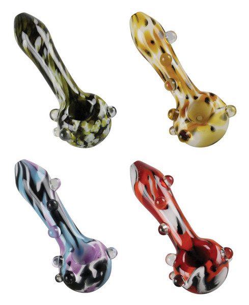 Empire Glassworks Psychedelic Spoons - 4.5"