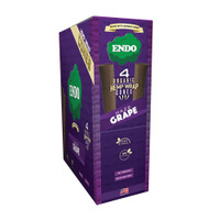 Endo Organic Hemp Wrap Cones | Haze Grape | Wholesale