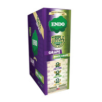 Endo Triple Double Hemp Wraps/Cones/Filters Combo | Grape & White Grape