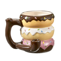 Donut Stack Ceramic Pipe Mug | Wholesale Distributor