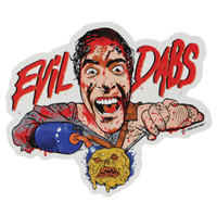 "Evil Dabs Sticker - 5.25""x4.5"""