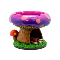Fantastical Mushroom House Ashtray w/ Storage | Wholesale