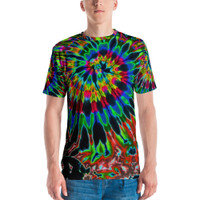 Feed A Hippie Sublimated Tie-dye T-shirt | Second Spiral | Wholesale