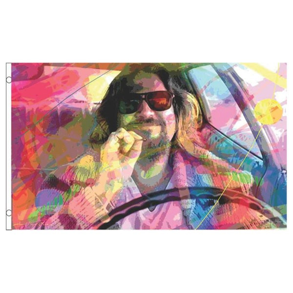 Fly Flags - 3'x5' | The Dude by Andrew Lloyd Glover