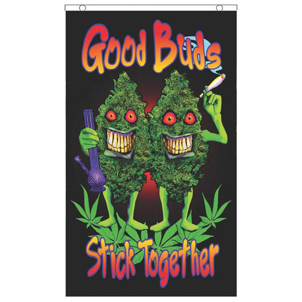 Fly Flags - 3'x5' | Good Buds