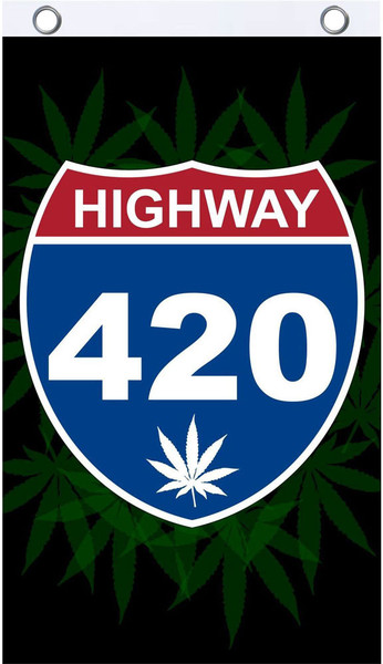 Fly Flags - 3'x5' | Highway 420 Road Sign | Wholesale Distributor