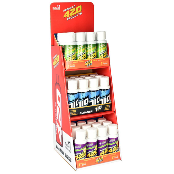 Formula 420 Cleaning Products - 2oz | 36pc Display