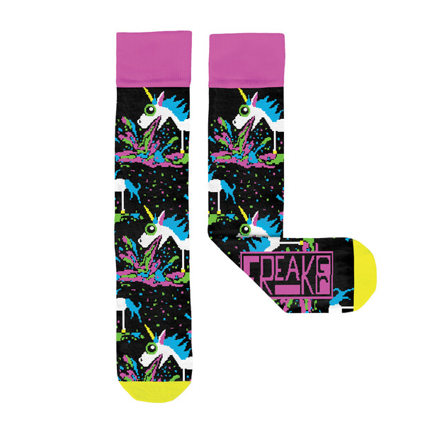 Freaker Socks USA | Puking Unicorns | Master Distributor