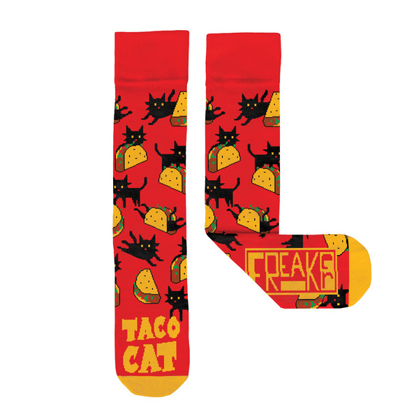 Freaker Socks USA | Taco Cat | Master Distributor