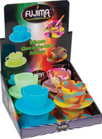 Fujima Glow Silicone Teacup Ashtray - 4"