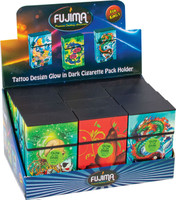 Fujima Glow Tattoo Cigarette Case - Kingsize | 12pc