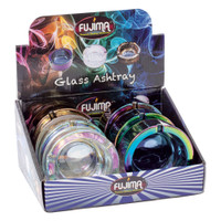 Fujima Iridescent Glass Ashtray | Wholesale Distributor