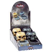 Fujima RIP Skull Polystone Ashtray | Wholesale