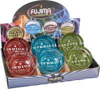 Fujima Cannabis Strains Glass Ashtray - 3.5"