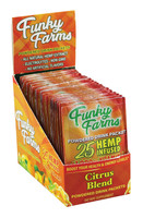 Funky Farms Hemp Drink Packets - 25mg / Citrus / 24pc