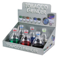 Funnel Grinder - 2.2 / Asst. Colors - 6pc Display - AFG Distribution
