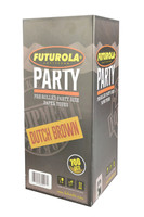 Futurola Party Size Cone - 700pc Box | Dutch Brown
