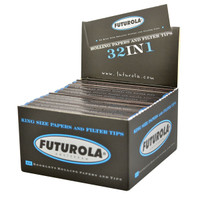 Futurola Rolling Paper w Tips - Kingsize | White | 26pc