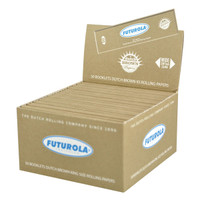 Futurola Rolling Papers - Kingsize | Brown