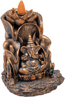 Ganesha Backflow Incense Burner - Polyresin | 5.5""
