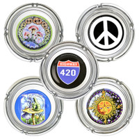 Glass Ashtrays | 12pc Display | Wholesale Distributor