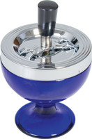 Glass Spinner Ashtray - 6"