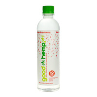Good Hemp CBD Infused Water - 16.9oz | Strawberry Kiwi