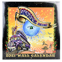 Grateful Dead 2021 Wall Calendar | Wholesale Distributor