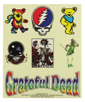 "Grateful Dead Assorted Sticker - 4""x5"" 