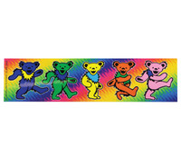 "Grateful Dead Dancing Bear Bumper Sticker - 8""x2"""