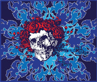 "Grateful Dead Explosion Fleece Throw Blanket - 50"" x 60"""