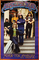 "Grateful Dead - Seven Ten Ashbury Poster - 24""x36"""