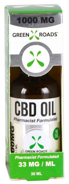 Green Roads CBD Oil Tincture - 30ml / 1000mg | 6pc Display