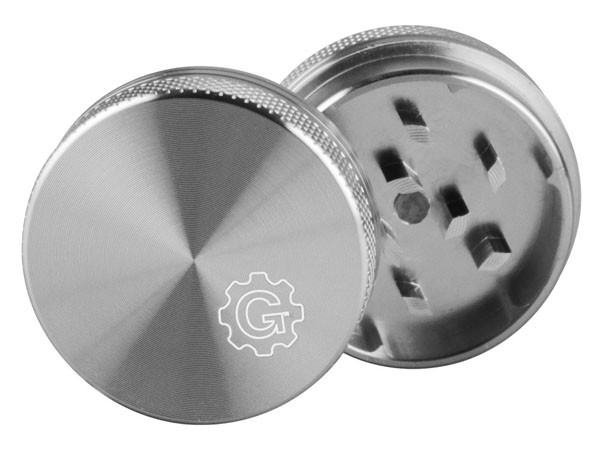 Grindhouse Solid Top Metal Weed Grinder | 2 Piece | Wholesale