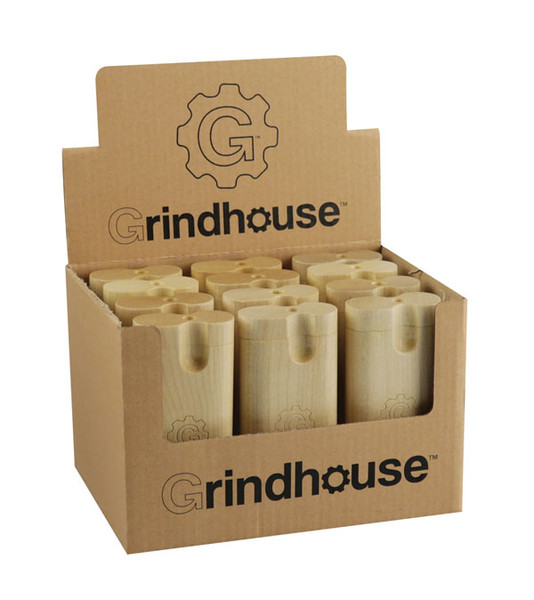 "Grindhouse Wood Dugout - 4"" / Twist Top / Maple / 12pc"