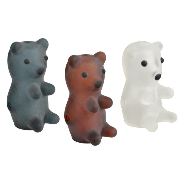 Gummy Bear Frosted Hand Pipe - 3"