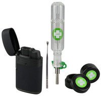 Happy Dab Kit | Black and Green Case | Wholesale Distributor