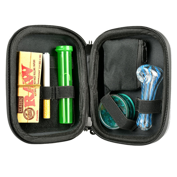 Happy Kit Deluxe | Pipe Grinder and Papers | Wholesale Distributor