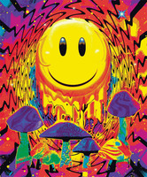 "Have a Nice Trip Fleece Blanket - 79"" x 94"""