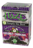 Haze Coconut Charcoal - 108pc Box