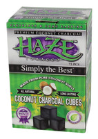 Haze Coconut Charcoal Cubes - 72pc Box