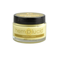 Hemplucid CBD Body Cream Whole Plant Extract - 500mg | 2oz