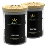 Hempzilla Premium CBD Flower Jar 7g | Cherry Wine | Wholesale Distributor