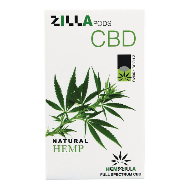 Hempzilla CBD Pods | Natural Hemp | Master Distributor