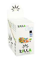 Hempzilla CBD Pods - 300mg | Loop Milk | 8 Pack