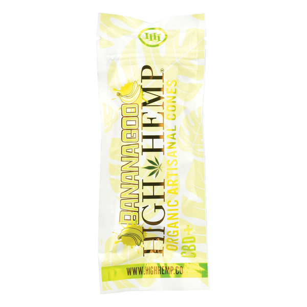 High Hemp Organic Pre-rolled Cones | Banana | Wholesale