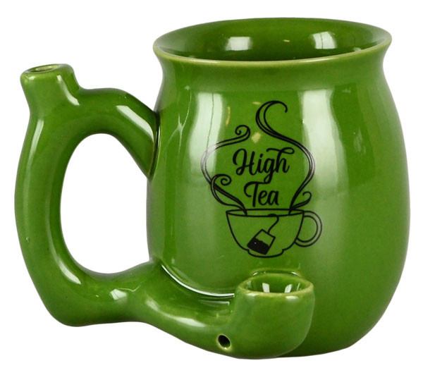Mug Pipe High Tea - 11oz / Small / Green