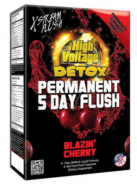 High Voltage Permanent 5 Day Flush | Cherry | Wholesale