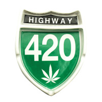 Highway 420 Ceramic Ashtray | Wholesale Distributor